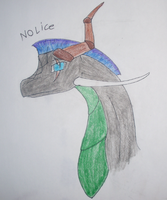 nolice the dragon by alice-the-dragon
