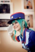 Officer Jenny by Bad-Llama