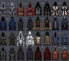 Mass effect 3 hoodies by daywalkeri5
