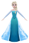 MMD Elsa W.I.P. by 0-0-Alice-0-0