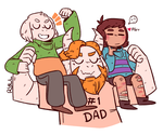 Strong Dad by ryllcat21