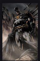 Batman Print by jayfabs