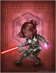 Sith Warrior by Isriana