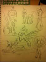 Luna Sketch Dump by bigponymac