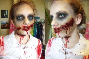 Amanda - Zombie Walk by itashleys-makeup