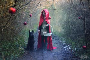 Red Riding Wood II by TheHoshi