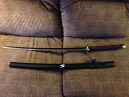 Fairy Tail Daito Katana by killer-blade