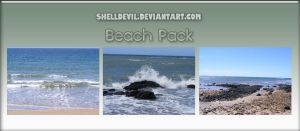 Beach Pack 15 by shelldevil