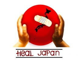 Heal Japan by JammyJaminated