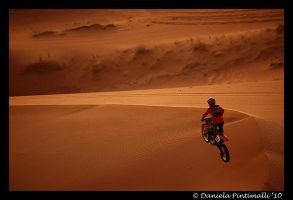 Desert Biking III by TVD-Photography