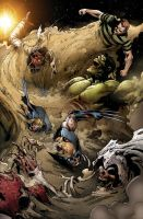 Marvel Zombies 5 by Wesflo