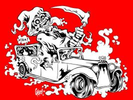 Riding With The Reaper bwr by MonsterInk