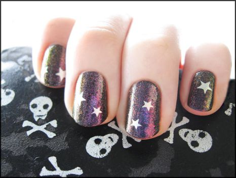 Starry Oil Slick by Alchemical