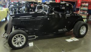 33 Ford 5 Window Coupe by zypherion