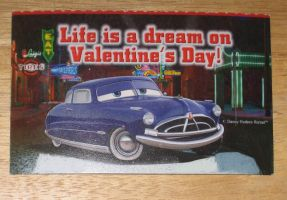 Doc Hudson Valentine's day card by Barricade9-1-1