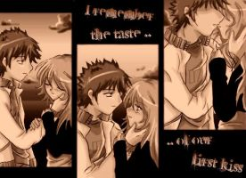 Our First Kiss .. by Letik