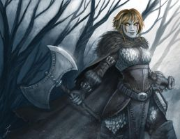 Astrid color by iara-art