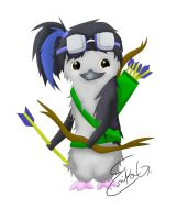 I'mma Archer WooT by Icicle1penguin
