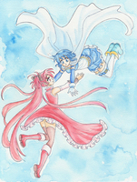 Madoka Magica _ You won't go alone by Arwen-chan