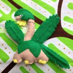 Tropius - Mini Pokemon Plush by AmyRosefan4eva