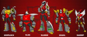Dinobots 4.0 by wardog-zero