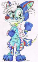 Candywyld the Candy Scientist by Sonic-Suzy