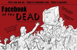 Facebook of the Dead by cwgodzilla
