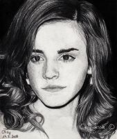 Emma Watson by cindy-drawings