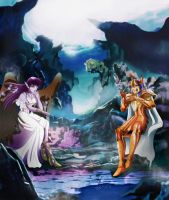 Saint Seiya - AGLAOPE/SORRENTO - Final by Iso-pI