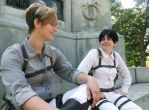 Attack On Titan Cosplay - Happier Times by Binary-Overdrive