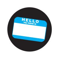 Hello Pin Template by agoez-depe
