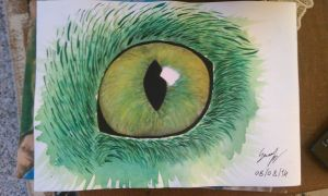 Emerald Eye by SecariTheHalfBlood