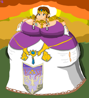 Fat Zelda: A Lunch to the Past by SugoiBarunAndFatties