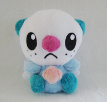 Shiny Oshawott Pokedoll by drill-tail