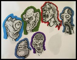 A Gathering of Ghouls by Mr-Mordacious