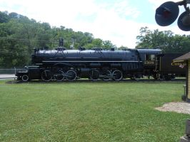 C and O 2-6-6-2 1308 by Engine97