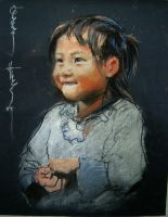 A Mai Chau child by kangaroooo