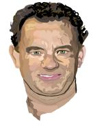 Tom Hanks No Pen work 2 by daylover1313