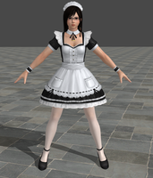 Dead or Alive 5 Ultimate - Maid - Kokoro by Irokichigai01