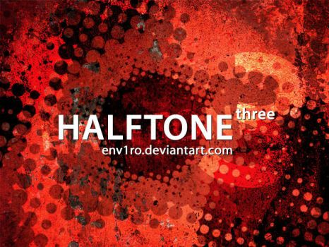HALFTONEThree by env1ro