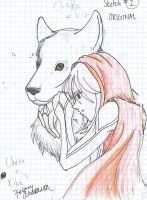 Kiba Cheza Sketch 1 by inulover411