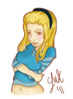 Teenage Alice by Leuxdeluxe