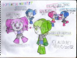 Hypnotic Quintet by claudinei230