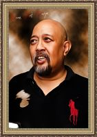 Indro Warkop Style SMUDGE PAINTING by BamsDeviantART