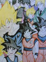 goku's family by Graxile