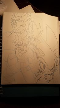 super sayians and super hedgehogs teaser by trunks24