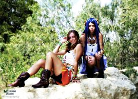 Oerba Dia Vanille and Yeul Cosplay by Katarawinternight10