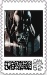 Darth Vader Postage Stamp by WOLFBLADE111