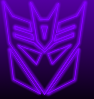 Decepticon symbol glowing by Annpar2009