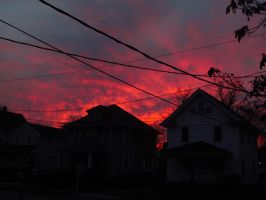 Fire Sky. by POETRYTHROUGHLENS